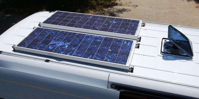 Solar Power For Motorhomes An Introduction Campervan